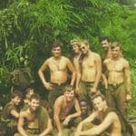 Dale Harbitz kneeling in center, 3rd Platoon, 1st Cavelry, Boys of Summer 1969